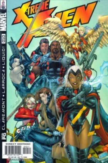 X-Treme X-Men 10 - Marvel - Wings - Superheroes - Guns - Costumes - Salvador Larroca