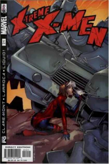 X-Treme X-Men 14 - Liquid - Army Tank - Direct Edition - Pg - Rock - Salvador Larroca