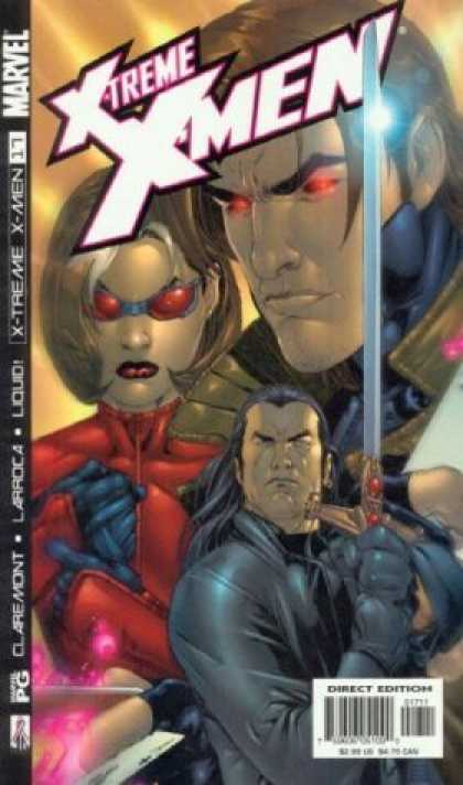 X-Treme X-Men 17 - Marvel - Mutant - Gambit - Sword - Direct Edition - Salvador Larroca