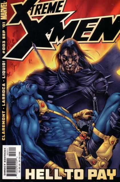X-Treme X-Men 3 - Marvel - Liquid - Larroca - Claremont - Hell To Pay - Salvador Larroca