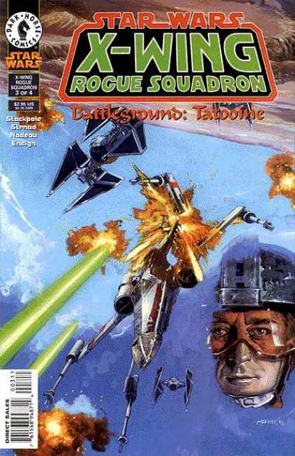 X-Wing 11 - Dark Horse Comics - Star Wars - Rogue Squadron - Aircraft - Explosion