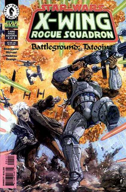 X-Wing 12 - Rogue Squadron - Star Wars - Fire - Battle Ground - Dark Horse Comics