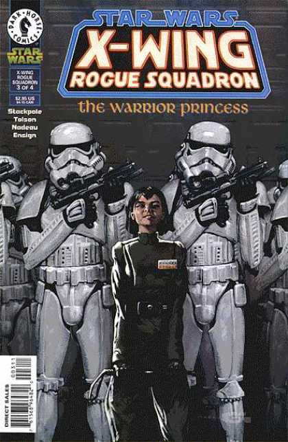 X-Wing 15 - The Warrior Princess - Star Wars - Rogue Squadron - Guns - Ensign