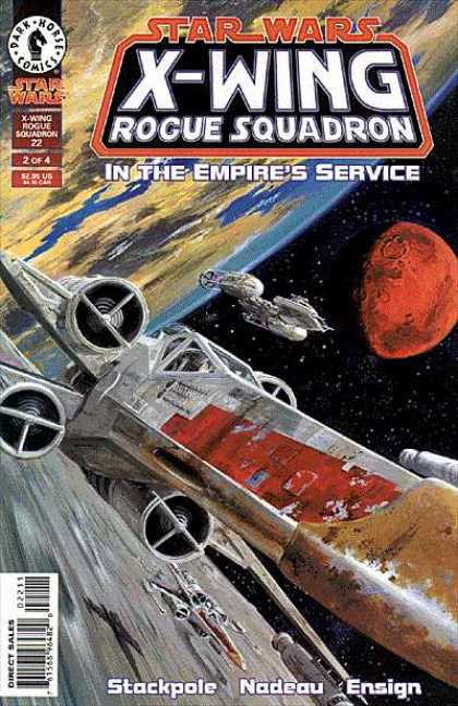 X-Wing 22 - Dark Horse Comics - Stackpole - Nadeau - Ensign - Star Wars