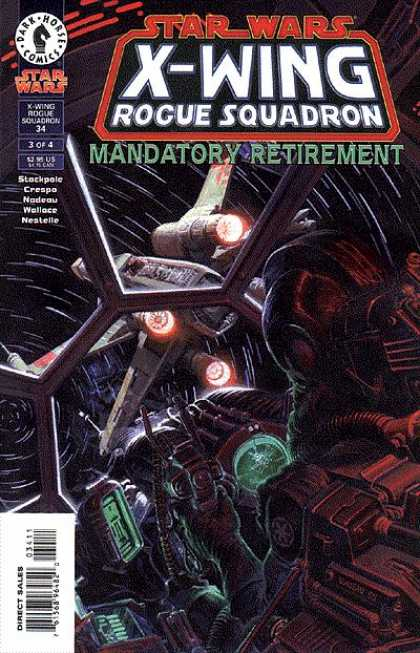 X-Wing 34 - Mandatory Retirement - Tie Fighter - Cock Pit - Imperial Pilot - Dogfight