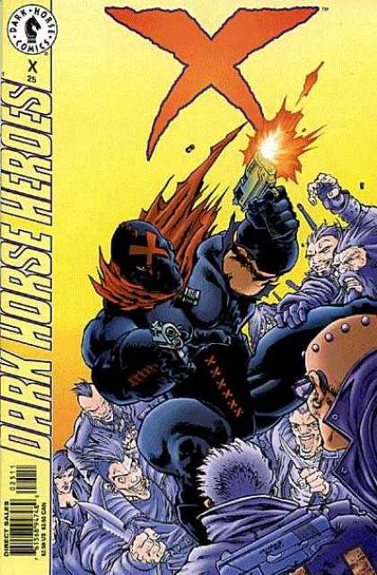 X 25 - Dark Horse Comics - Knight - Gun - Weapon - Dark Horse Heroes