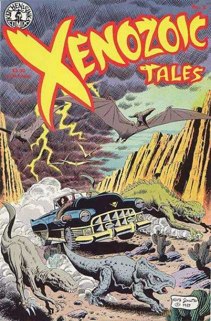 Xenozoic Tales 2 - Tales - Cactus - Lighting - Dinosaurs - Car
