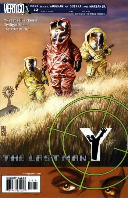 Y, the Last Man 12 - Classic - Vertigo - Issue - Windmill - Dallas