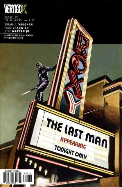 Y, the Last Man 17 - Vaughan - Chadwick - Roxy - Vertigo - Marzan Jr