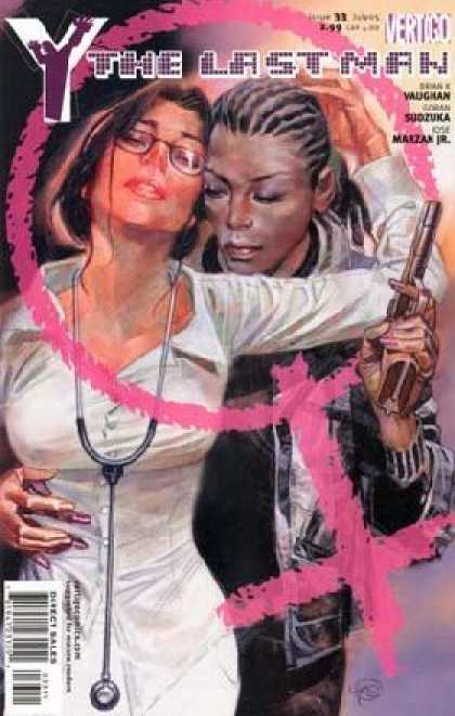 Y, the Last Man 33 - Beautiful Girl - Gun - Sudzuka - Vaughan - Marzan Jr