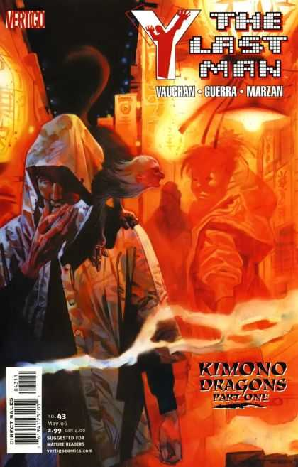 Y, the Last Man 43 - Vertigo - Vaughan - Guerra - Marzan - Kimono Dragons