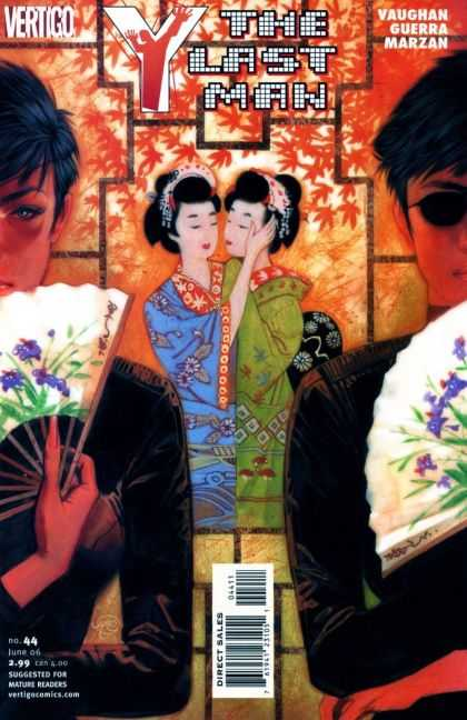 Y, the Last Man 44 - Vertigo - Japan - Vaughan - Guerra - Marzan