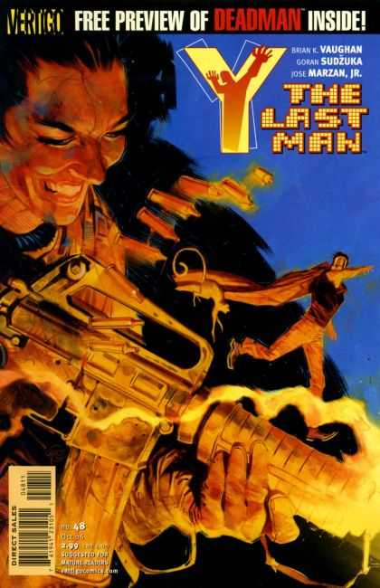 Y, the Last Man 48 - Man - Evil - Gun - Fire - Shot