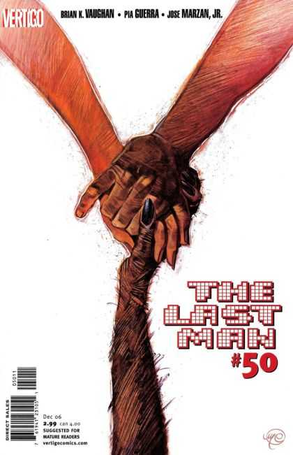 Y, the Last Man 50 - Vertigo - Brain Kvaughan - Pia Guebra - Jose Marzan - Direct Sales
