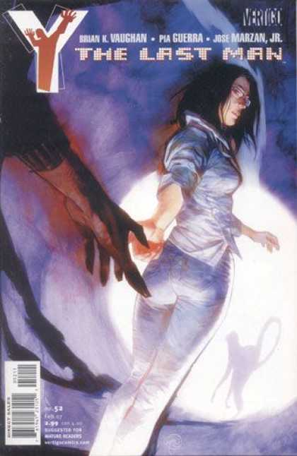 Y, the Last Man 52 - Vertigo - Hands - Blue Jeans - Woman - Black Hair