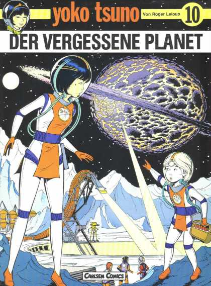 Yoko Tsuno 10 - Carlsen - Carlsen Comics - The Lost Planet - Space - Roger Leloup