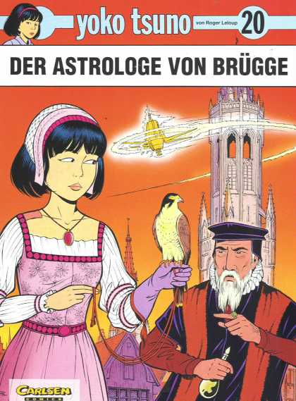 Yoko Tsuno 20 - Tower - Man - Lady - Bird - Tie