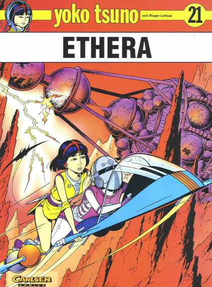 Yoko Tsuno 21 - Ethera - Flying - Machines - Lightning - Driving
