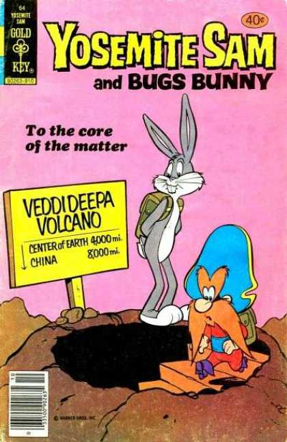 Yosemite Sam 64 - Bugs Bunny - Cor Of The Matter - Center Of Earth - Gold Key - Veddideepa Volcano