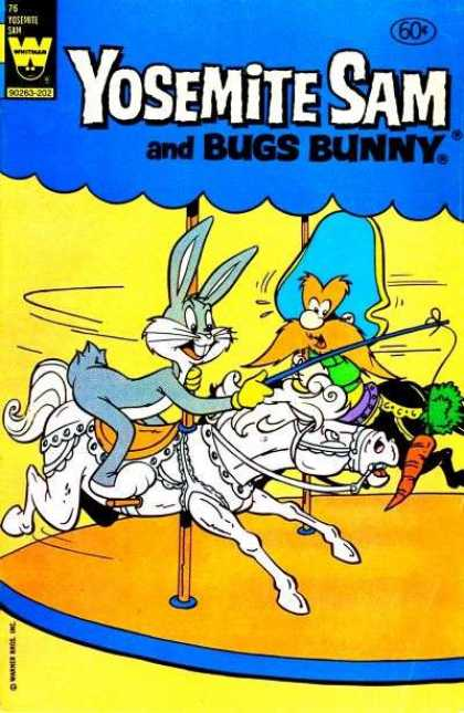 Yosemite Sam 76 - Looney Tunes - Bugs Bunny - Carousel - Rabbit - Warner Brothers