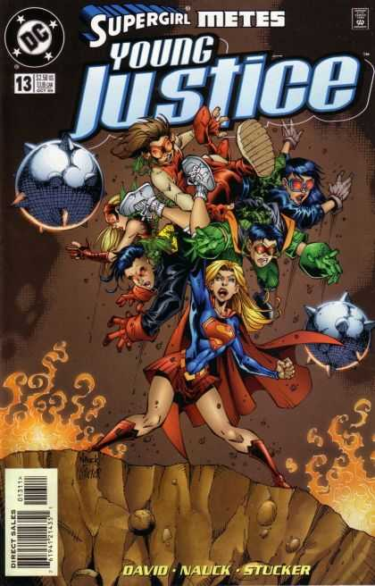 Young Justice 13 - Dc - Dc Comics - Supergirl - Justive - Supergirl Fight Young Justive
