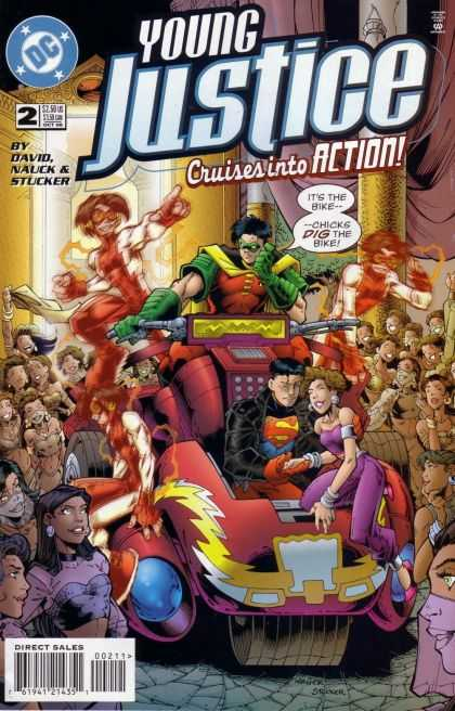 Young Justice via | buy1