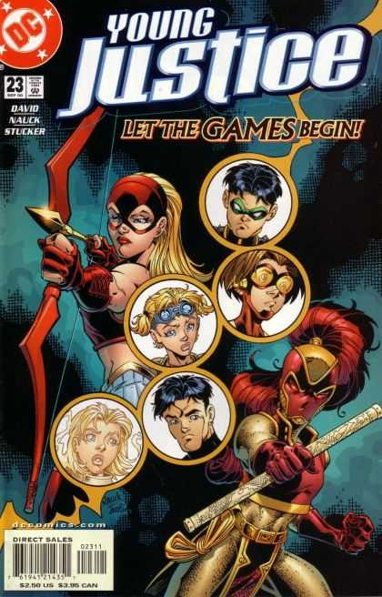 Young Justice 23 - Let The Games Begin - David Nauck Stucker - Woman - Bow