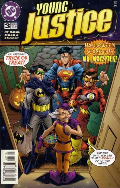 Young Justice 3 - Halloween - Mr Mxyzptlk - Trick Or Treat - David - Stucker