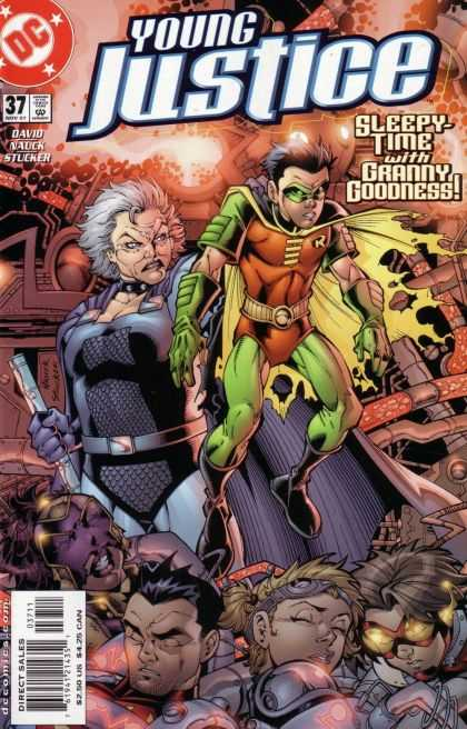 Young Justice 37 - Dc - Sleepy - Time - Granny - Goodness