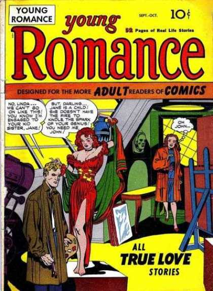 Young Romance 1 - Jack Kirby, Joe Simon