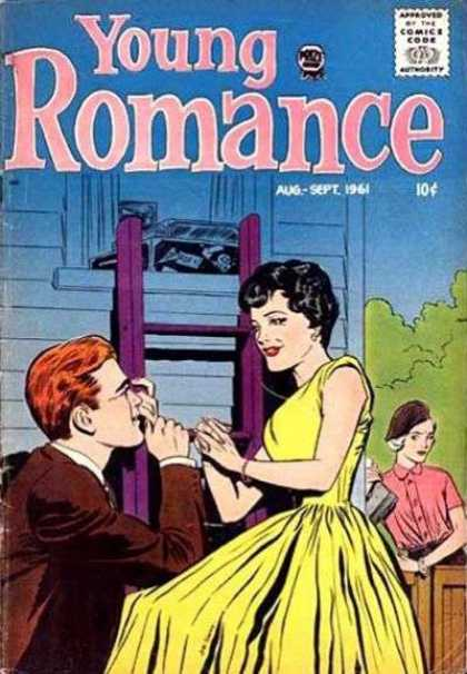 Young Romance 113 - Ladder - Courting - Envy - Stable - Love