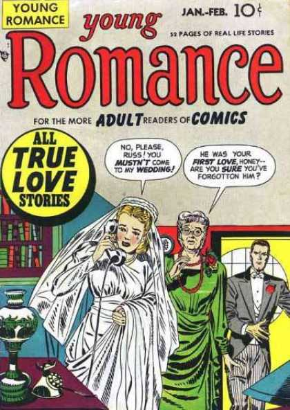 Young Romance 3 - Jack Kirby