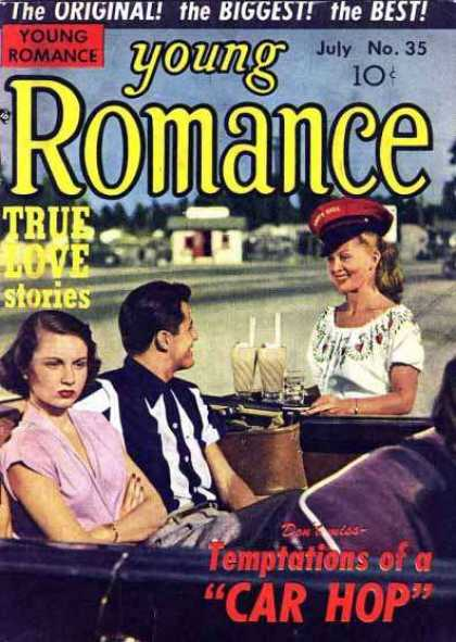 Young Romance 35 - True Love Stories - The Original - The Biggest - The Best - July No 35