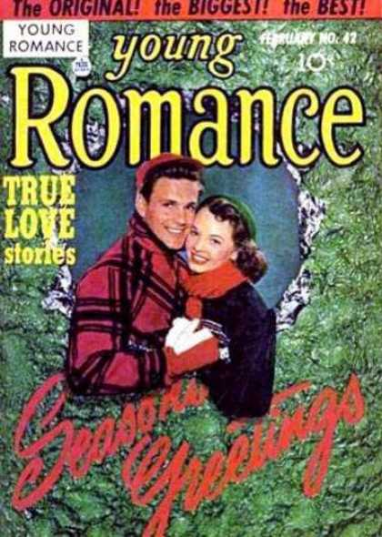 Young Romance 42 - Young Romance - True Love Stories - February No 42 - Couple - Winter Clothing