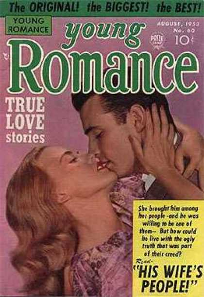 Young Romance 60 - Original - Biggest - Best - True Love Stories - Man