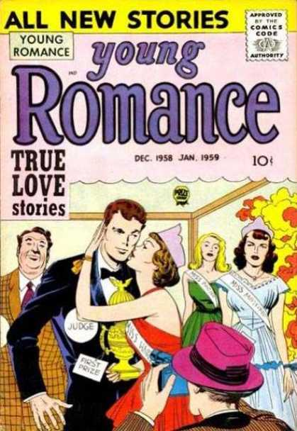 Young Romance 91 - All New Stories - Comics Code - True Love Stories - Women - Man
