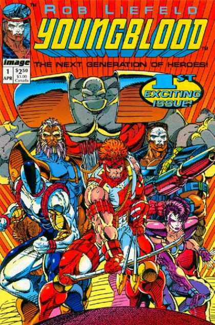 Youngblood 1 - Rob Liefeld