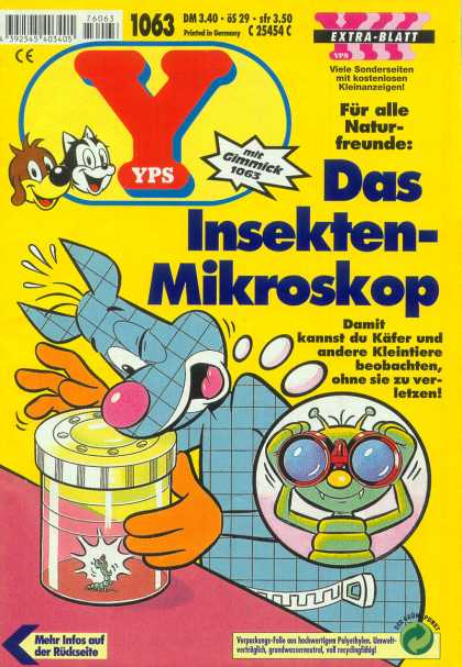 Yps - Das Insekten-Mikroskop - Bug - Jar - Animal - Binoculars - Table