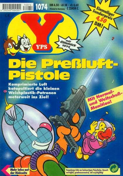 Yps - Die Preßluft-Pistole - Die Prebluft-pistole - Gun - Space - Bird - Dog