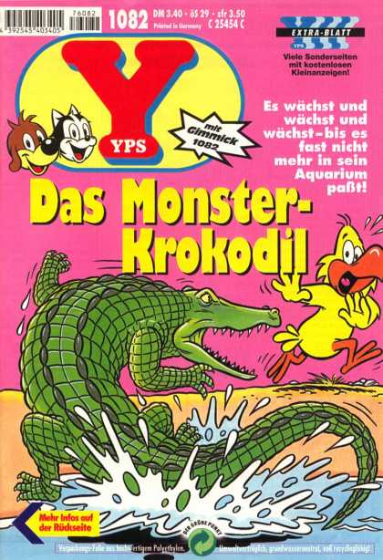 Yps - Das Monster-Krokodil - Das Monster-krokodil - German - Bird - Es Wachst Und - Water