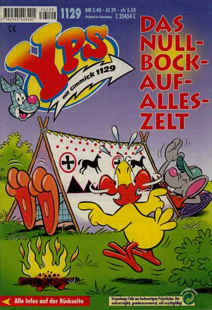 Yps - Das Null-Bock-Auf-Alles-Zelt - Two Is Better Than One - Chicken Feet Mouse Head - Whats Going On - How Can This Be - What An Awesome Trick