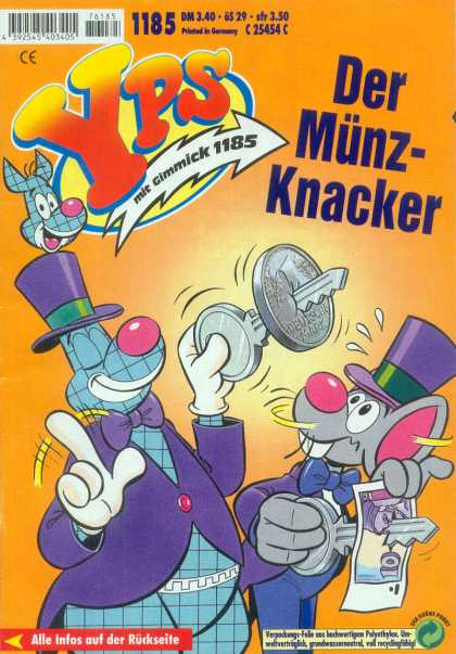 Yps - Der Münz-Knacker - Kangaroo - Mouse - Key - Coin - Magic Trick