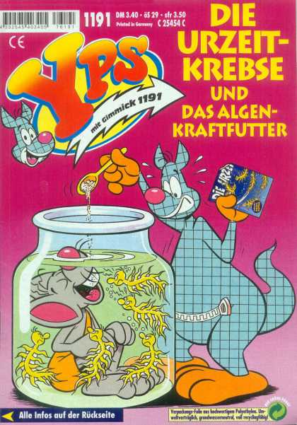 Yps - Die Urzeit-Krebse und das Algen-Kraftfutter - Ways To Kill A Mouse - Mouse Cooking 101 - Internation Comic - Mouse Stew - Yps
