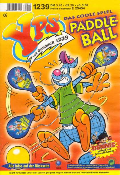 Yps - Paddle-Ball - German - Humor - Funny Animals - Kangaroo - Paddle Ball
