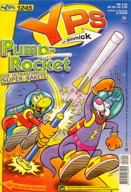 Yps - Pump-Rocket - 1245 - Gimmick - Pump-rocket - Rocket - Frog