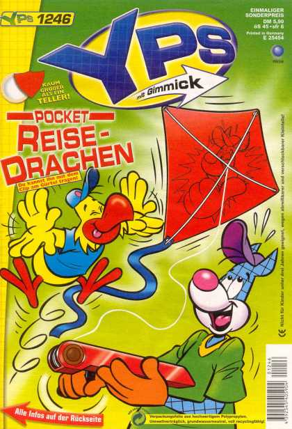 Yps - Pocket Reise-Drachen - Pocket Reise-drachen - Kite - Bird - 1246 - Fun