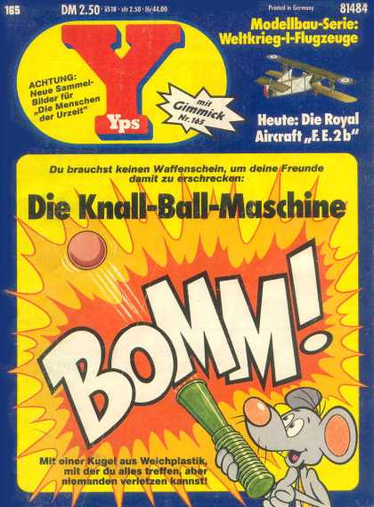 Yps - Die Knall-Ball-Maschine - Plane - Mouse - Explosion - Flames - Ball