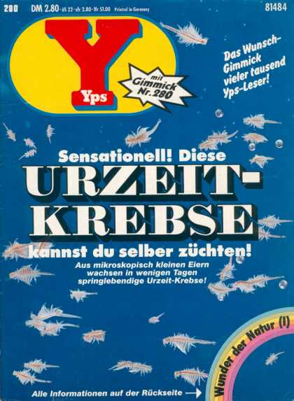 Yps - Urzeit-Krebse - Micro - Atoms - Cells - German - Science
