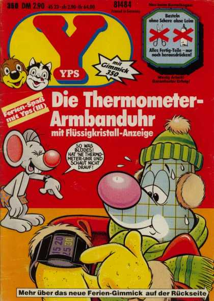 Yps - Die Thermometer-Armbanduhr