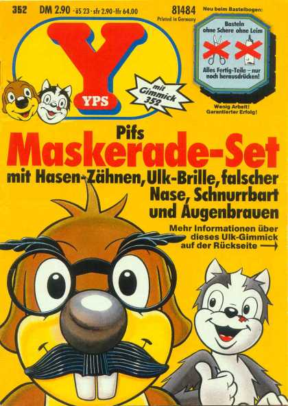 Yps - Pifs Maskerade-Set